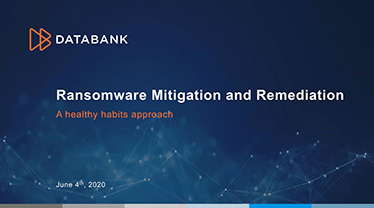 [Image for DataBank-Ransomware-Mitigation-and-Remediation